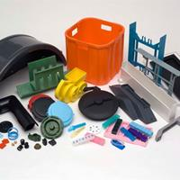 Sample Injection molding parts for a variety of industries on different materials.